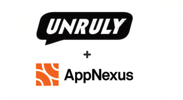 Unruly Partners With AppNexus To Bring Together Buyers And Sellers Of Viewable Outstream Video Inventory At Scale