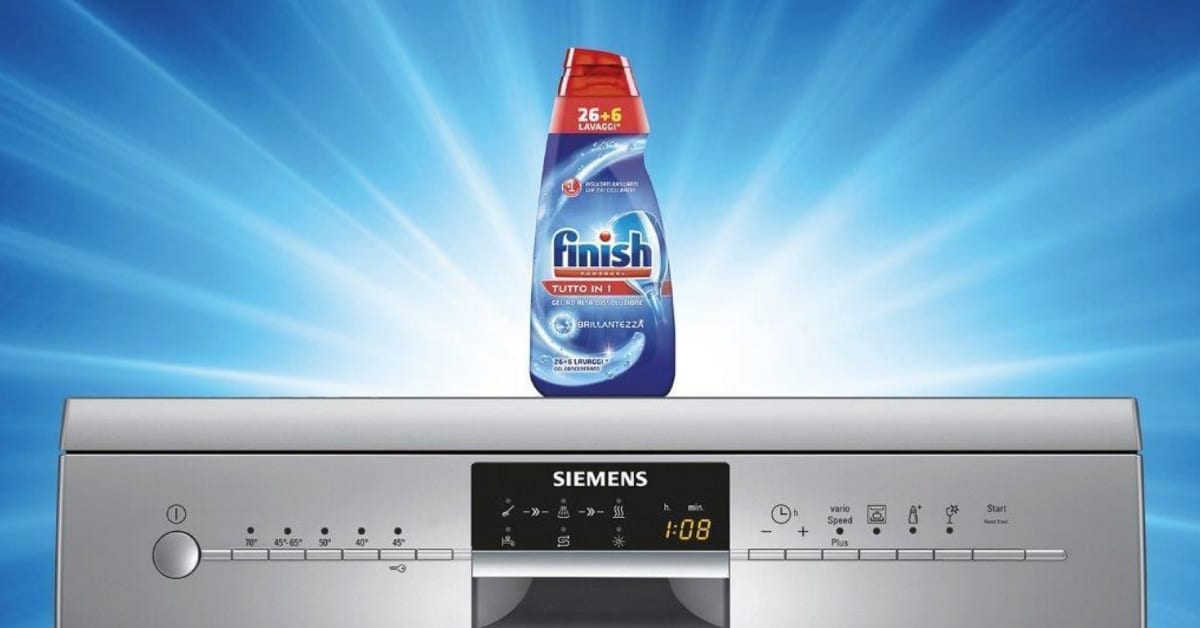 Finish, smart dishwasher